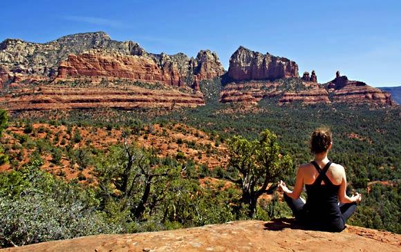 Yoga in Red Rock Sedona