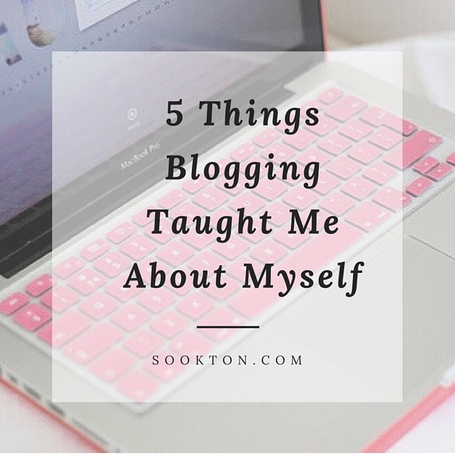 Blogging Taught Me About Myself